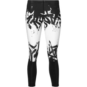 asics 7/8 Tights Femme, brilliant white/performance black